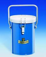 Сосуд Дьюара, цилиндрический, для СО2 и жидкого N2 Тип 26 B Объем 1 л Внутреннийдиаметр 100 мм Высотавнутр. 150 мм