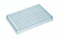 LLG 96-луночные ПЦР-планшеты, полипропилен Описание 96-луночный ПЦР планшет с юбкой, низкий, ПП Объем 200 мкл