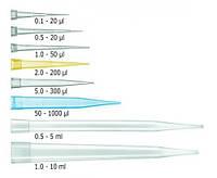 Наконечники для пипеток россыпью, в повторно закрываемых пакетах, нестерильные Объем 0,5 - 5 мл мкл Цвет натуральный Кол-вомешковв упак. 1 (по 200)