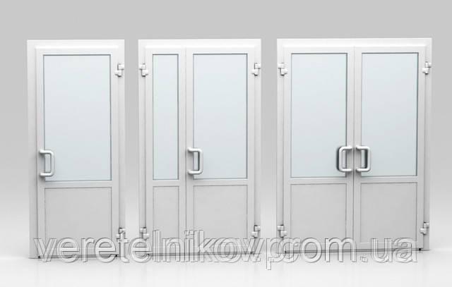 Двери металлопластиковые Rehau (пластиковые) — входные, межкомнатные.