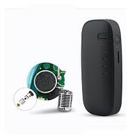 Цифровой диктофон с батареей 2000 mAh, время записи до 200 часов,  функцией PowerBank (FineFun VM116)