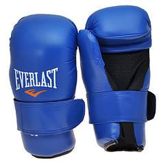 Перчатки Everlast KungFu,ММА,Тхеквондо,DX,Flex синие EVDX355-LB