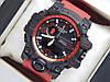 Спортивные часы Casio G-SHOCK GWG-1000 красного цвета