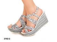 Босоножки на каблуке Sev Mar S3702/2