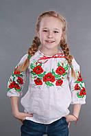 """Вышиванка для девочки """"Мак и Укроп"""", фото 1"""