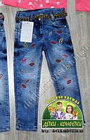 Джинсы с губками для девочки 2-3 года