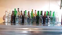 Бутылка стеклянная, стекло-тара , водочная бутылка , пивная бутылка , пробки , крышки