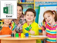 Расчеты бизнес-плана детского центра (только Excel)