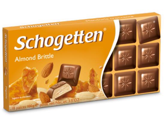 Шоколад Schogetten Almond Brittle 100 гр.