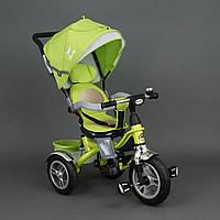 Велосипед 3-х колёсный BestTrike Салатовый арт. 5688 (надувные колёса)
