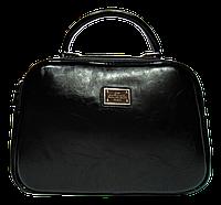 Женская сумочка D&K из качественной искусственной кожи черного цвета KWW-900111