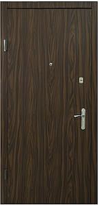 Двери входные металлические в квартиру: Эконом