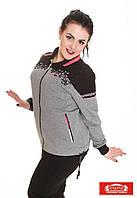 Спортивный костюм женский Турция трикотаж больших размеров