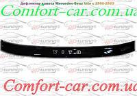 Дефлектор капота (мухобойка) Mercedes Vito W638 (Мерседес Вито W638)