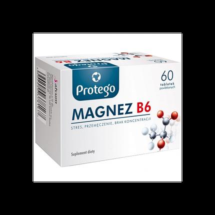 Magnesium (Mg) B6 Protego (Salvum) 60 tab, фото 2