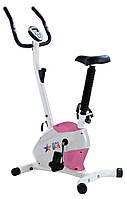 Велотренажер USA Style механический бело-розовый SS-370 D