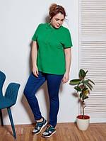 Женская трикотажная футболка тенниска Lesta (разные цвета)