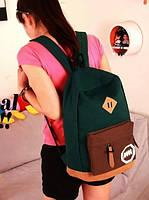 Молодежный рюкзак. Мужской рюкзак из холста. Женский рюкзак. РМ2
