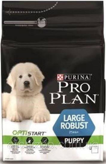 Pro Plan Large Robust Puppy 12 кг для щенков крупных пород
