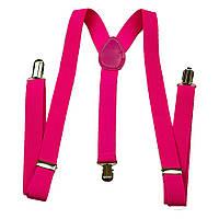 Подтяжки розовые гангстерские 140317-001