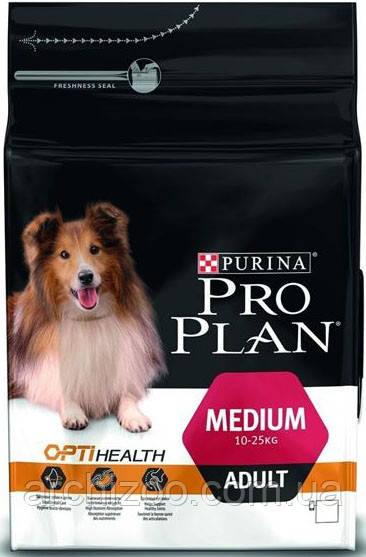 Pro Plan Medium Adult 14 кг -для собак средних пород с курицей
