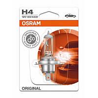 Лампа  для автомобиля OSRAM ORIGINAL 12V  H4 60/55 W Германия