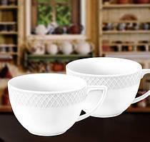 Набор: Чашка джамбо 500мл 2 шт Wilmax от Юлии Высоцкой WL-880109-JV