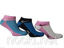 Носки женские короткие  спорт Nike пр-во Турция
