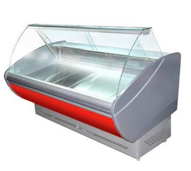 Холодильная витрина ПВХС - Каролина 1.6 , фото 2