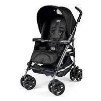 Детская прогулочная коляска  Peg-Perego Pliko P3 Compact Classico Mod Black
