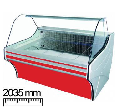 Холодильная витрина Cold VIGO 20 (w-20sg-w) , фото 2