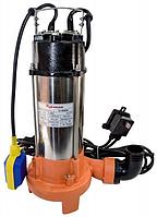 Дренажно–фекальный насос Бурштин SP V 1500 QD–1,5 с режущим механизмом