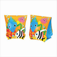 Нарукавники детские надувные рыбки Intex 59652