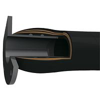 Рукав с встроенным фланцем корабельный EN 1765 TypeS15 LIMAN-S15