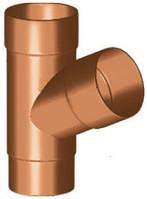 Тройник водосточной трубы из ПВХ Gamrat PVC