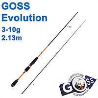 Спиннинговое удилище  Goss Evolution A02-213 3-10g 2,13м