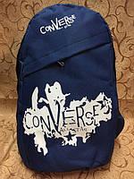Рюкзак городской Converse синий белый // Converse - синий/белый