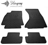 Комплект резиновых ковриков Stingray для автомобиля Audi A4 (B8) 2007-2015   4шт.