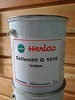 Cellonit G1010 Herlac 5л нитроцелюлозний грунт для дерева