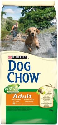 Dog Chow Adult 14 кг - корм для взрслых собак с ягненком