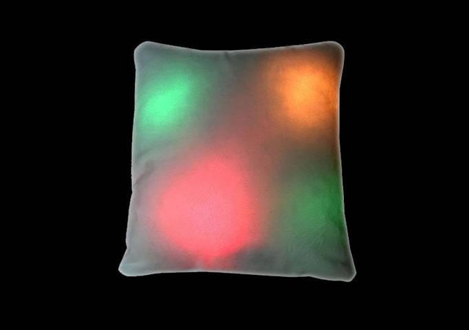 Подушка светящаяся в темноте для сублимации, плюшевая