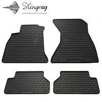Комплект резиновых ковриков Stingray для автомобиля  Audi A4 (B9) 2015-    4шт.