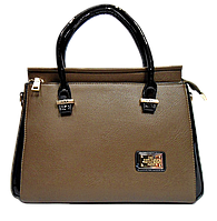 Прямоугольная женская сумочка Diary Klava темно бежевого цвета KCA-901004