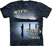 3-D футболка FRESHWATER WTF