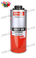 Novol Gravit Antigravel MS 600 Антигравийное покрытие Средство защиты кузова 1л Черный