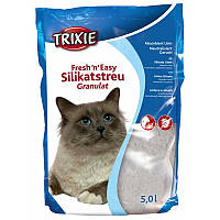 Trixie Fresh & Easy granules силикагелевый наполнитель для кошачьего туалета 5 л