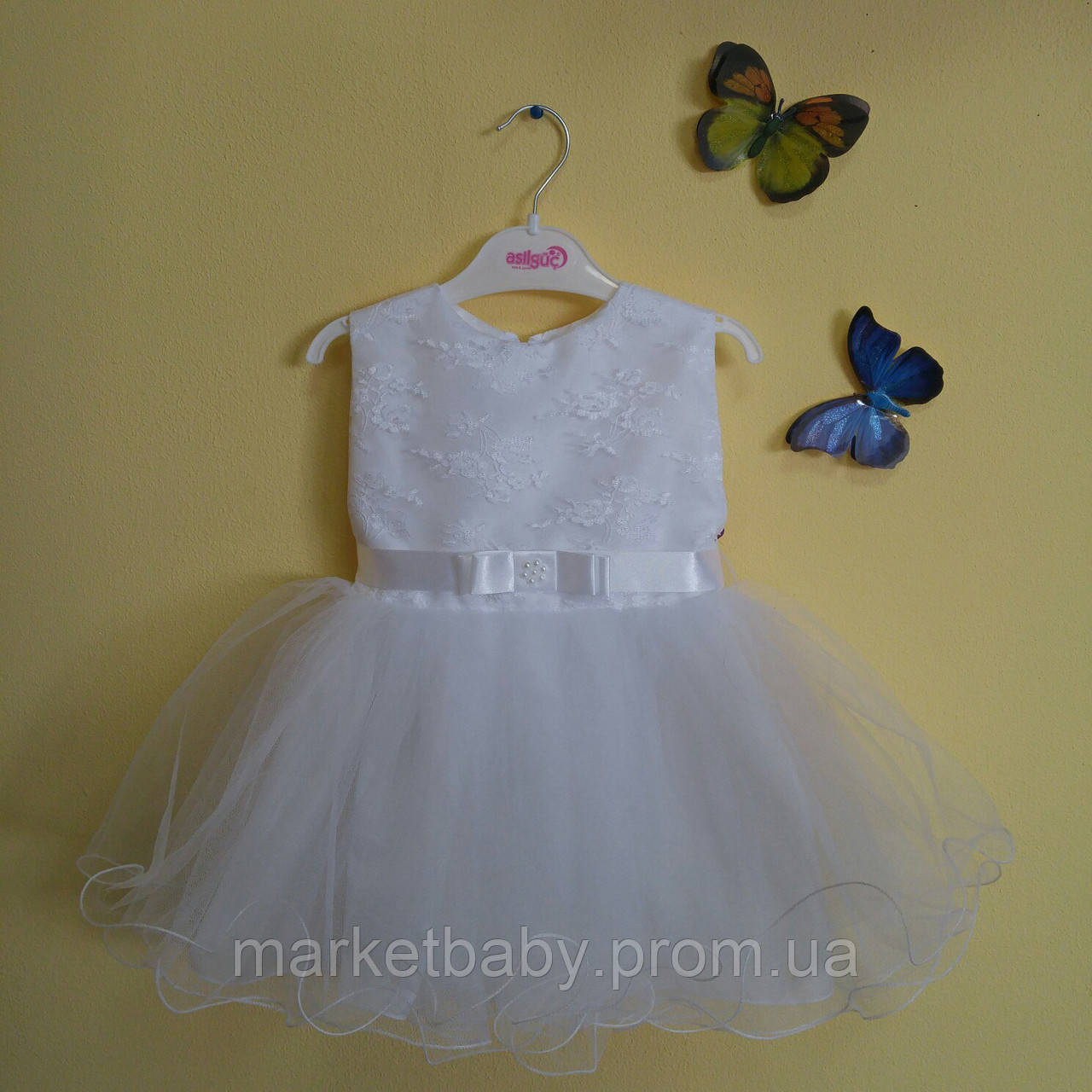 Платье для девочки на рост 80