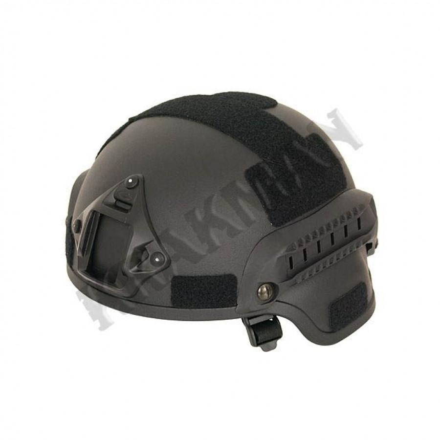 Реплика шлема MICH2000 без RIS чёрный ||M51617098-BK - Шерман в Киеве