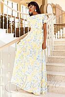 Платье Женин желтый