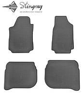 Комплект резиновых ковриков Stingray для автомобиля Audi A6 (C4) 1990-1997   4шт.